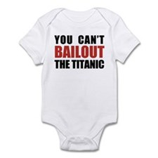Bailout The Titanic Infant Bodysuit