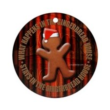 gingerbread Ornament (Round)