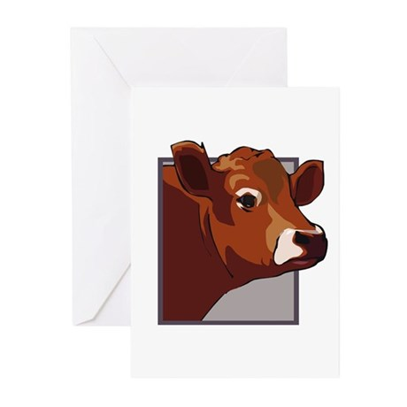 Cow Greeting Cards (Pk of 10)
