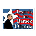 Texas is for Barack Obama Postcards