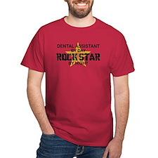 Dental Asst RockStar by Night T-Shirt