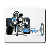 Vintage Top Fuel 1 Mousepad