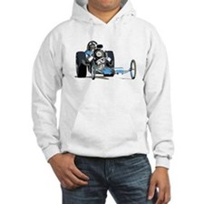 Vintage Top Fuel 1 Hooded Sweatshirt