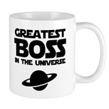 Greatest Boss Small Mug