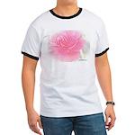 Olde Pink Rose Ringer T