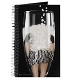Champagne Girl: Blank Journal