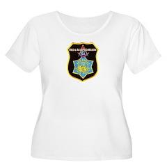Arkansas Police Mason Women's Plus Size Scoop Neck