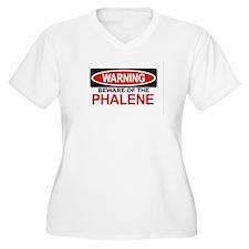 PHALENE Womes Plus-Size V-Neck T-Shirt