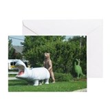 Cute Dinosaur Greeting Card