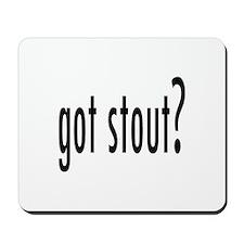 got stout? Mousepad