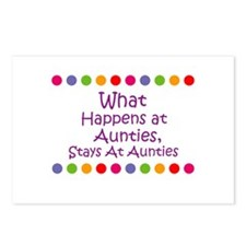 What Happens at  Aunties, Sta Postcards (Package o