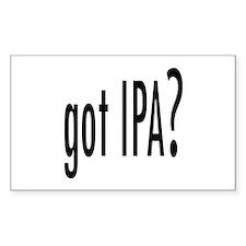 got IPA? Rectangle Decal