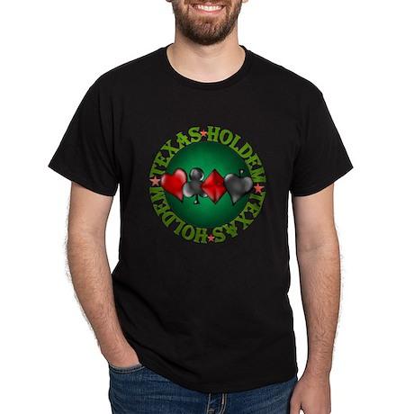 Texas Holdem 4 Dark T-Shirt