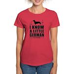 Dachshund - Little German Women's Dark T-Shirt