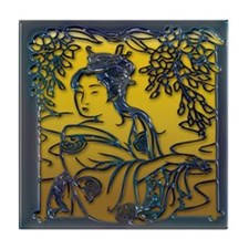 Geisha Tile Coaster