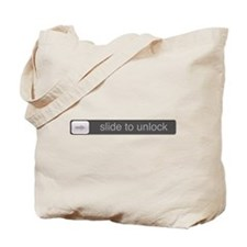 Slide to Unlock Tote Bag