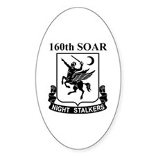 160th SOAR (2) Oval Decal