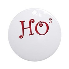 Cute Tinsel Ornament (Round)