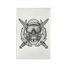 Combat Diver (2) Rectangle Magnet