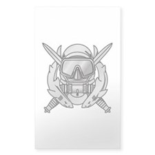 Combat Diver (2) Rectangle Decal