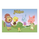Cute Jabloo Postcards (Package of 8)