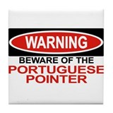 PORTUGUESE POINTER Tile Coaster