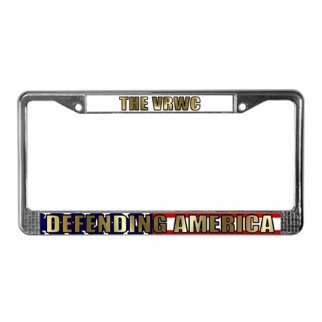  VRWC License Plate Frame