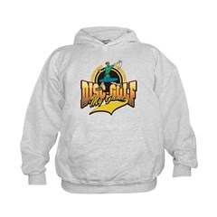 Disc Golf My Game Kids Hoodie