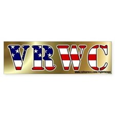Vast Right Wing Conspiracy Bumper Bumper Sticker