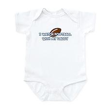 Detroit Football Daddy Infant Bodysuit
