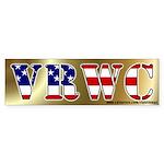 Vast Right Wing Conspiracy Bumper Sticker