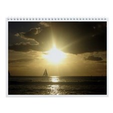 Hawaiian Sunset Calendar