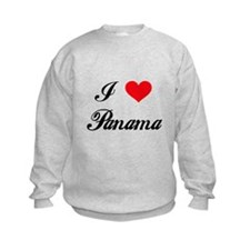 I Love Panama Sweatshirt