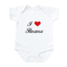 I Love Panama Infant Bodysuit
