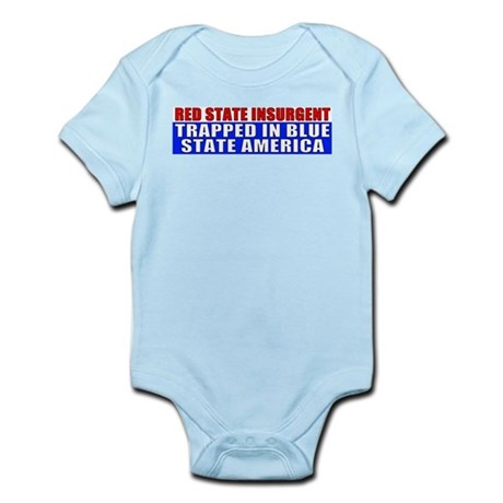 Red State Insurgent Infant Creeper