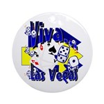 Viva Las Vegas Keepsake (Round)