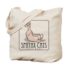 Sphynx Cat Poses Tote Bag