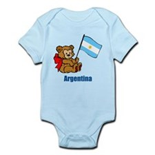Argentina Teddy Bear Infant Bodysuit