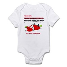 Christmas is Cancelled Infant Bodysuit