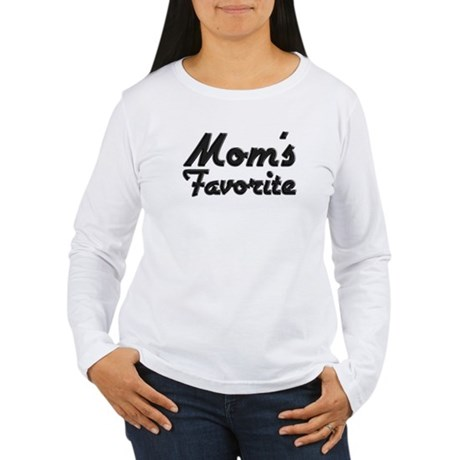 Mom's Favorite Women's Long Sleeve T-Shirt