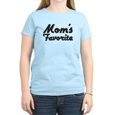 Mom's Favorite Women's Light T-Shirt