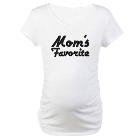Mom's Favorite Maternity T-Shirt