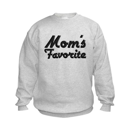 Mom's Favorite Kids Sweatshirt