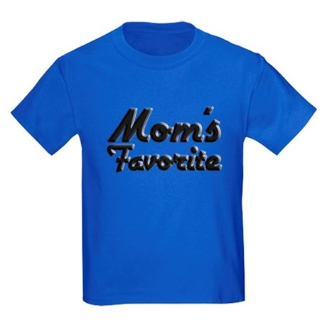 Mom's Favorite Kids Dark T-Shirt