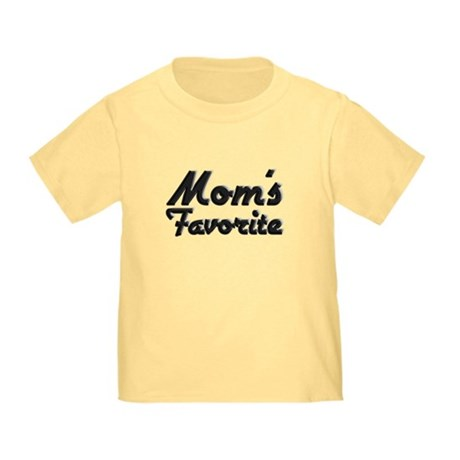Mom's Favorite Toddler T-Shirt
