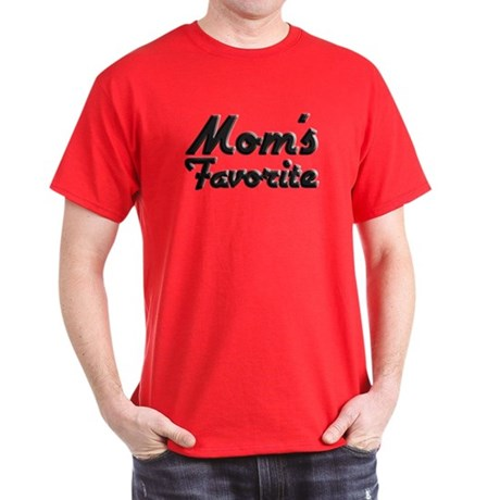 Mom's Favorite Dark T-Shirt
