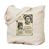 Cute French writer Tote Bag