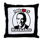 I Heart Huckabee Throw Pillow