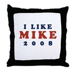 I Like Mike Throw Pillow