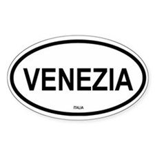 Venezia Oval Decal